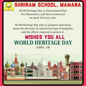 18th April  World Heritage day